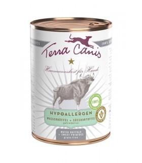 Terra canis hypoallergenico bufalo con patata dolce 400 gr