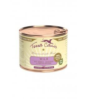 Terra canis classic selvaggina con zucca, amaranto e mirtilli rossi 200 gr