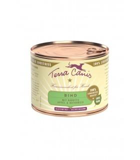 Terra canis classic manzo con carote, mela e riso integrale 200 gr