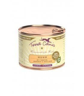 Terra canis classic pollo con amaranto, pomodori e basilico 200 gr