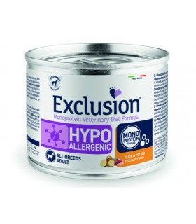 Exclusion diet formula hypoallergenic anatra e patate 200 gr