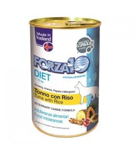 Forza 10 cane pate diet tonno e riso 400 gr