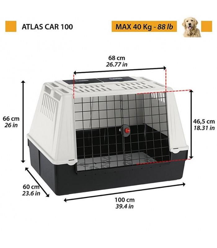Ferplast Atlas car 100 grigio trasportino