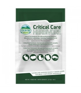Critical care herbivore 1 busta 36 gr
