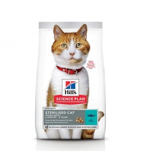 Hill's Science Plan gatto Young Adult Sterilised tonno 1,5 kg