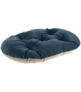 Ferplast prince 55/4 cuscino blu e beige
