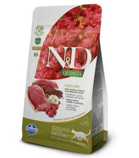 Farmina n&d quinoa gatto urinary anatra 5kg