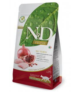 Farmina n&d prime gatto neutered pollo melograno 300 gr