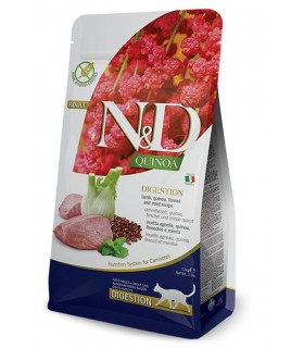 Farmina n&d quinoa gatto digestion agnello 5 kg