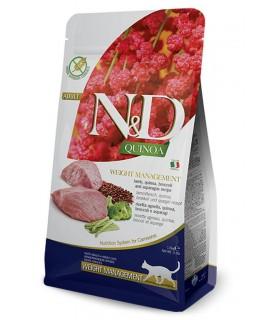 Farmina n&d quinoa gatto weight management agnello 5 kg