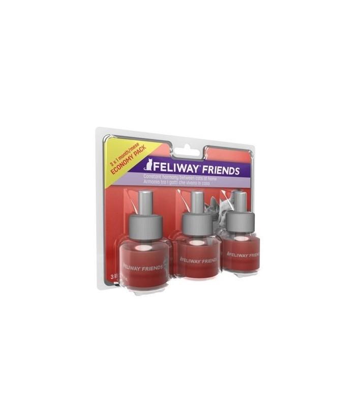 Feliway friends 3 ricariche 48 ml