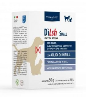Dynamopet dilsh small 20 bustine 2,5 gr