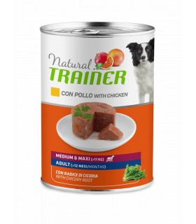 Natural trainer cane medium & maxi Adult con pollo 400 g