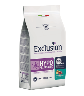 Exclusion diet formula hypoallergenic cervo e patate small breed 2 kg