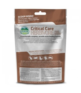 Critical care herbivore fine grind 100 gr
