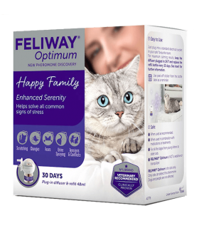 Feliway Optimum diffusore + ricarica 48 ml