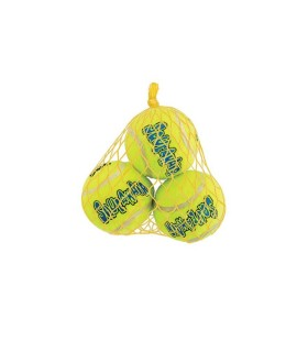 Kong squeakair tennis 3 balls small