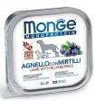 Monge cane monoprotein agnello con miritilli 150 gr