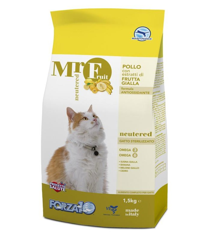 Forza 10 gatto mr fruit neutered 1,5 kg