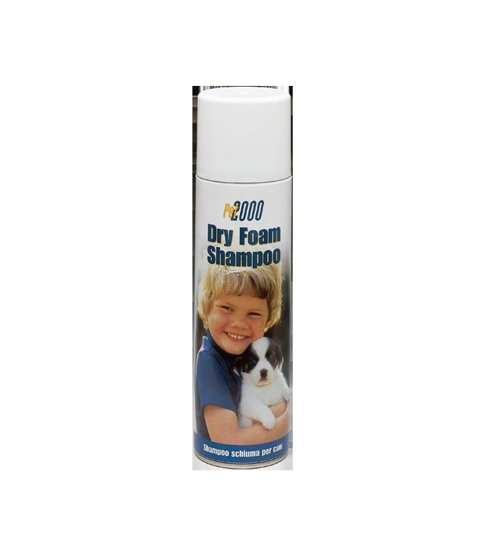 DRY FOAM SHAMPOO CANI 250 ML