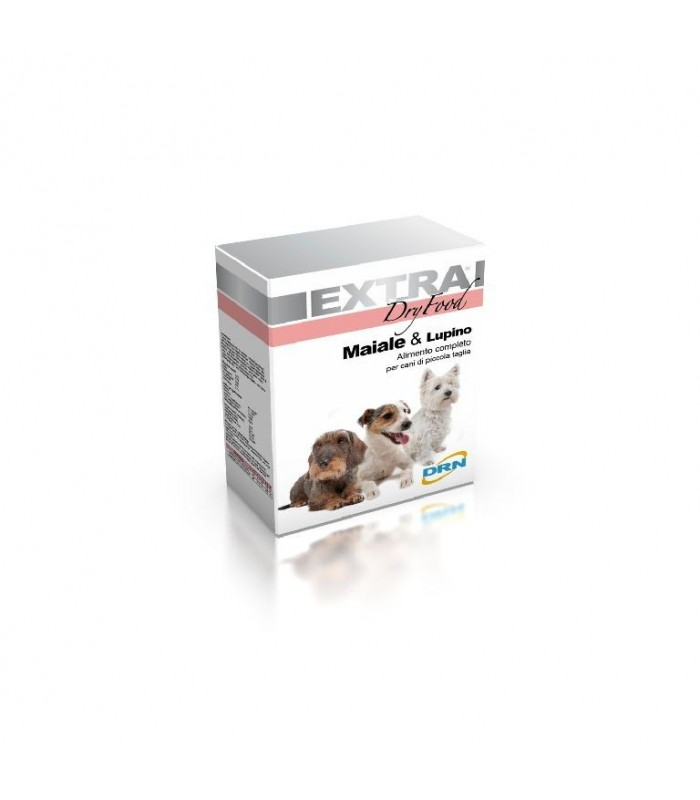 Drn extra mini dry food maiale & lupino 1,5 kg