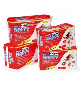 Camon nappy dog's pannoloni mutandina large 45/55 cm