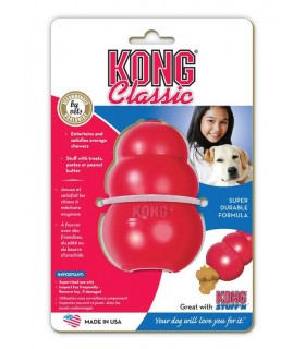 KONG EXTRA LARGE CLASSIC 375 GR 25-40KG ROSSO