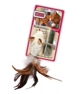 KONG CAT FEATHER MOUSE