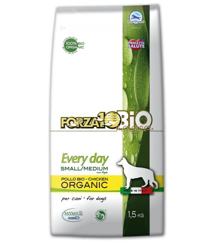Forza 10 cane every day bio al pollo e alghe small e medium 1,5 kg