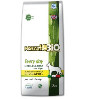 Forza 10 cave every day bio pollo e alghe medium large 12 kg