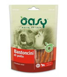 Oasy snack cane bastoncini di pollo 100 gr