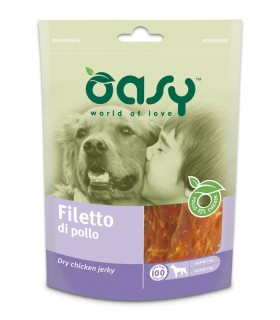 Oasy snack cane filetto di pollo 100 gr