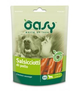 Oasy snack cane salsicciotti di pollo 100 gr