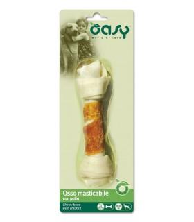 Oasy snack cane osso pollo taglia XL 98 gr