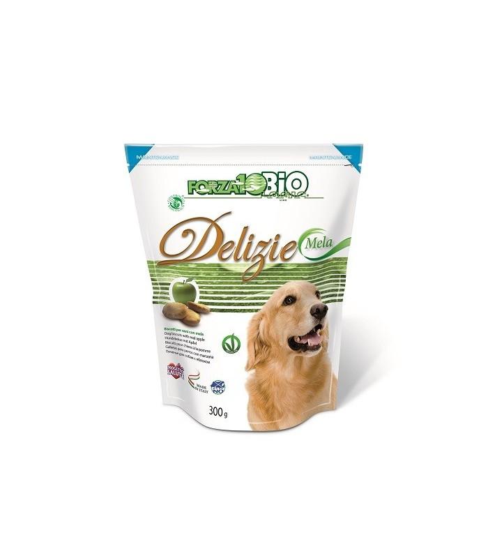 Forza 10 cane delizie bio mela 300 gr