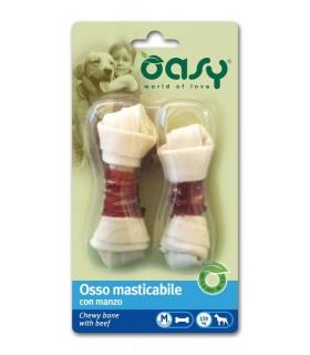 Oasy snack cane osso manzo taglia M 56 gr