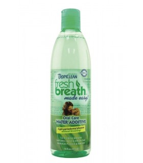 TROPICLEAN FRESH BREATH WATER ADDITIVE 473ML