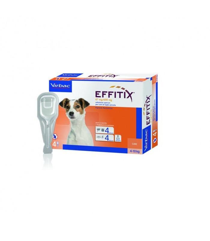 EFFITIX 4 pipette cani 4-10 KG
