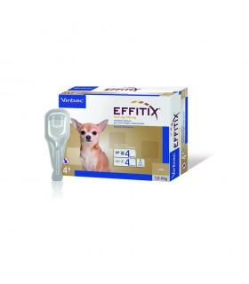 Virbac effitix 4 pipette cani 1,5-4 kg
