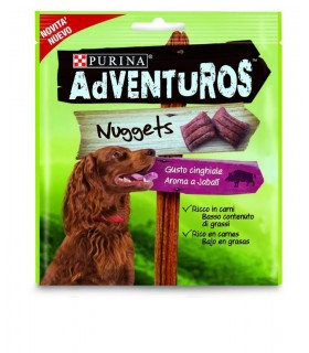 Purina adventuros nuggest gusto cinghiale 90 gr