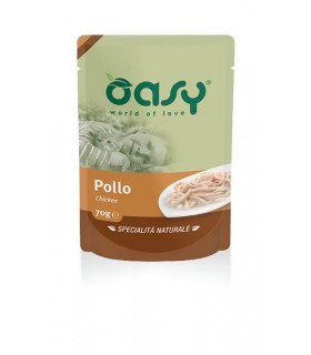 Oasy gatto wet bustina pollo 70 gr