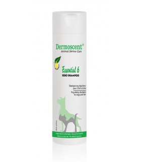 Dermoscent essential 6 sebo shampoo cane e gatto