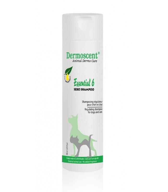 DERMOSCENT essential 6 sebo shampoo cane e gatto