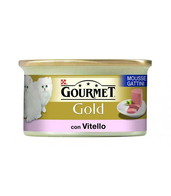 Gourmet gold mousse gattini con vitello 85 gr