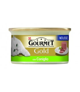 Gourmet gold mousse con coniglio 85 gr
