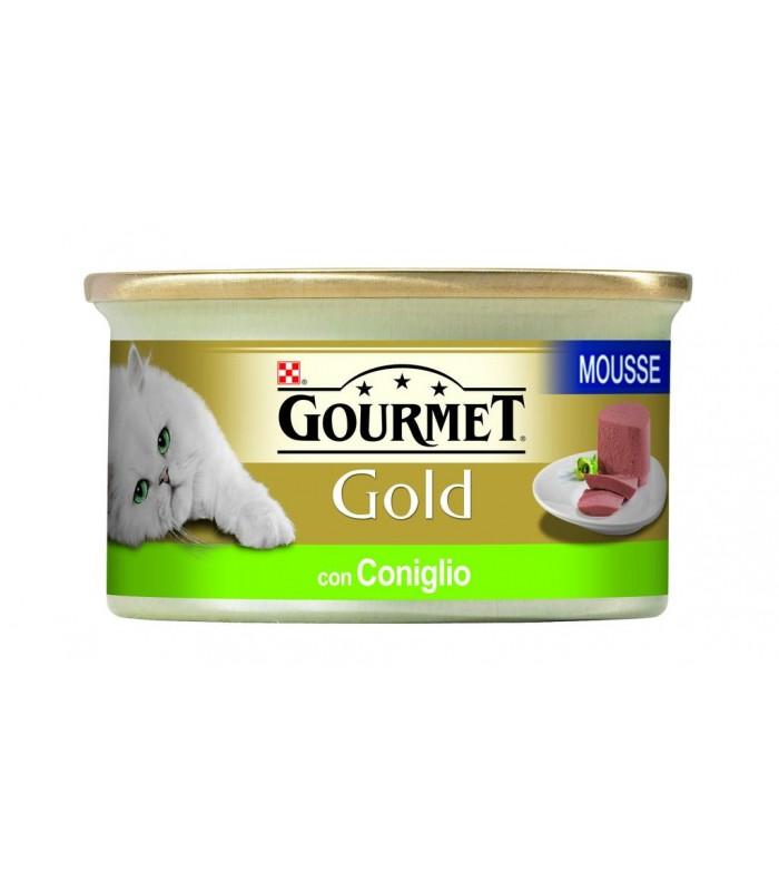 Gourmet gold mousse con coniglio 85 gr