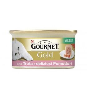Gourmet gold mousse con trota e deliziosi pomodorini 85 gr