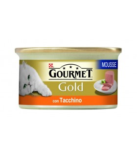 Gourmet gold mousse con tacchino 85 gr