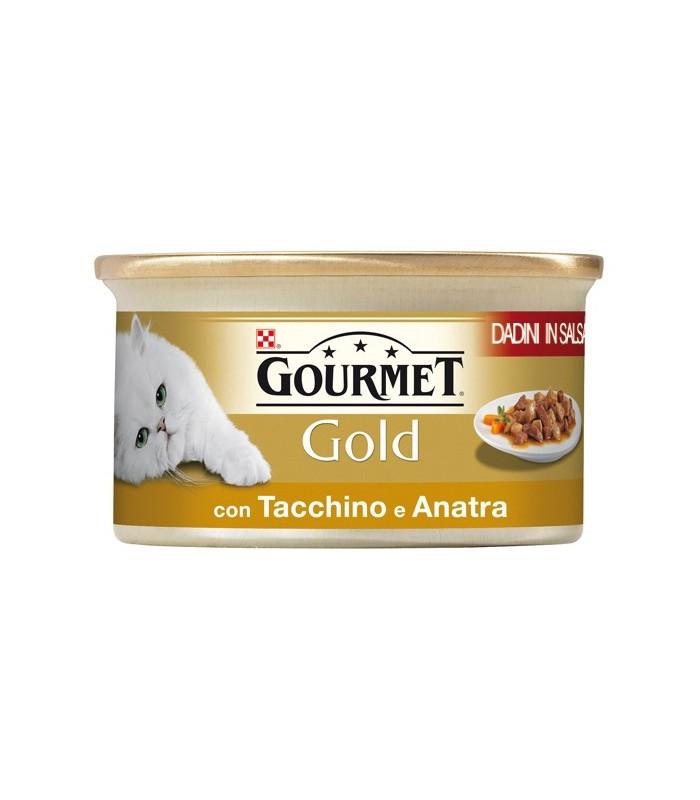Gourmet gold dadini con tacchino e anatra 85 gr