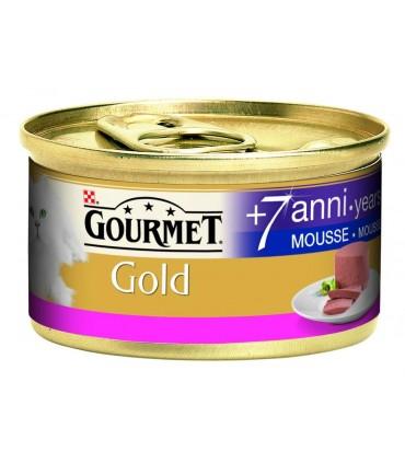 Gourmet gold senior mousse con salmone 85 gr